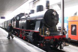 Eb 3/5 Nr. 9 der ehemaligen Bodensee-Toggenburg-Bahn auf Gleis 4 in Luzern am 01. Juni 2013 | Bild: H.U. Kneuss