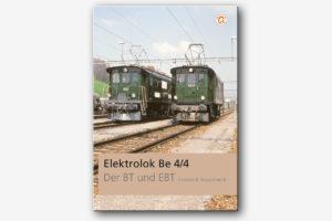 Buch Elektrolok Be 4/4 der BT und EBT von Christian R. Frauenknecht